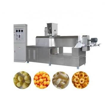 automatic corn chips puff snack food pellet extrusion machine