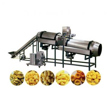 Crunchy Twisted Ring Ball Snacks Food Extruder Machine
