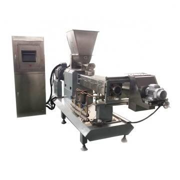 Mini Screw Food Extruder Machinery for Fried Pellet Snacks Food