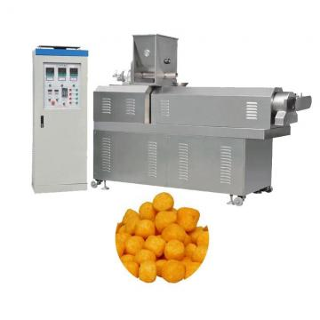 Crispy Corn Puff Snack Food Production Line Extruder Machine