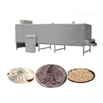 High Safety Level Industrialized Powder Processing Line Modified Starch Machine