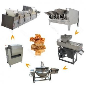 Popular Commercial Snack Food Peanuts Cereal Bar Forming Machine