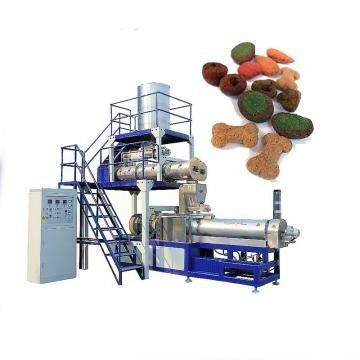 Double Screw Dog Core-Filling Sanck Food Production Line	/Dry Animal Food Making Machine for Sale