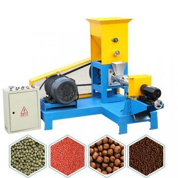 2018 New Type Fish Food Pellet Making Extruder