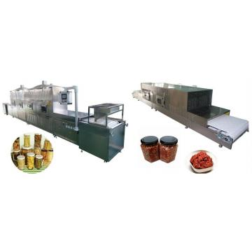 Automatic Tunnel Type Microwave Drying Lotus Root Starch Sterilizer Machine