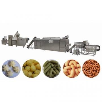 corn snack food processing line puff production line