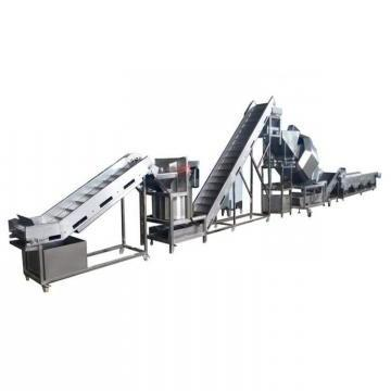 100kg/H Snack Machine Semi Automatic Frozen French Fries Processing Plant/ Potato Chips Production Line