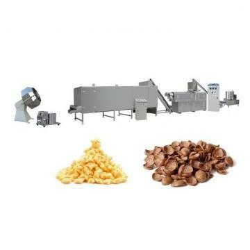 Corn Grain Puffed Snacks Rice Snack Food Puff Chip Extruder Machine