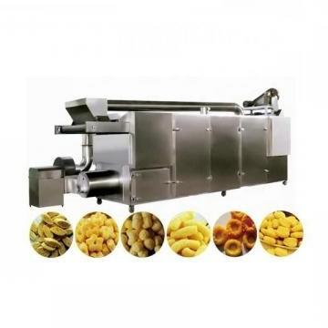 Automatic Stainless Steel Food Making Puff Snack Corn Chips Machine