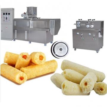 Puff Rice Puffed Corn Chips Snack Cereal Rings Cheese Ball Making Machine