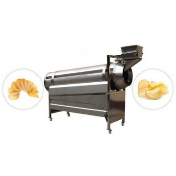automatic puff bugles chips line corn snack food frying making extrusion machine price