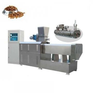 Small Scale Industries Used Twin Screw Extruder Machines Dog Biscuits Machine