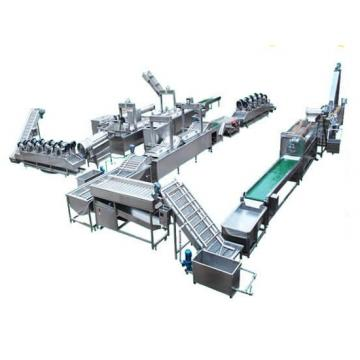 Automatic Food Produciton Line French Fries Potato Carrot Slices Sticks Processing Line